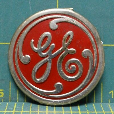 Vintage Mid-Century GE General Electric Fan Center Badge Logo Cover Tag