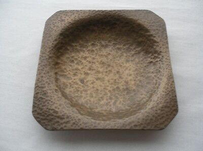 SMALL Incredible ARTS & CRAFTS Mission COPPER DISH Hand Hammered WONDERFUL FIND