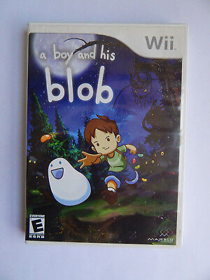 A Boy and His Blob Game Complete! NIntendo Wii