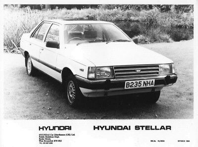 1985 Hyundai Stellar ORIGINAL Factory Photo oua0942