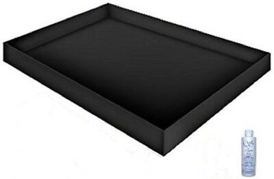 PREMIUM STAND UP SAFETY WATERBED LINER with 4OZ WATERBED CONDITIONER