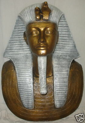 Egyptian King Tut Mask Pharaoh Sculpture Statue