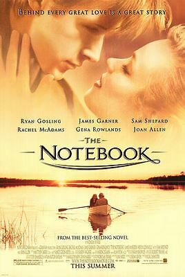 Notebook - original DS movie poster - 27x40 D/S - 2004 Ryan Gosling Style B