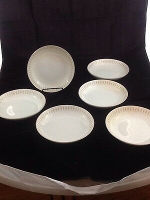 ACI Fine China Durant #8102 Set of 6 Soup or Cereal Bowls 7.5""