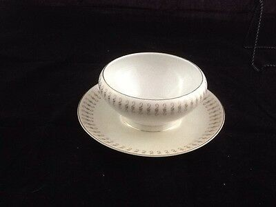 ACI Fine China Durant #8102 GravyBoat w/underplate