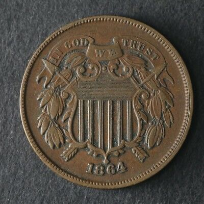 1864 Two (2) Cent Piece Great Deals From The TECC Bargain Bin