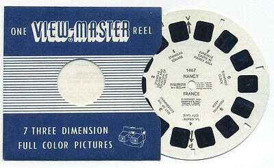 NANCY France 1959 Belgium-made ViewMaster Single Reel 1467
