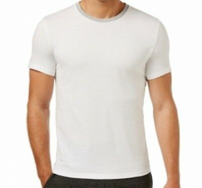 Kenneth Cole Reaction NEW White Men XL Downtime Crewneck Tee Shirt $29 #162