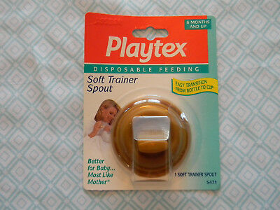 Playtex Soft Trainer Spout for disposable Bottle NEW