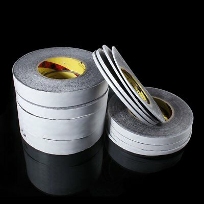 50M 2mm-40mm Black Double Sided Strong Adhesive Sticky Tape for Cellphone Screen