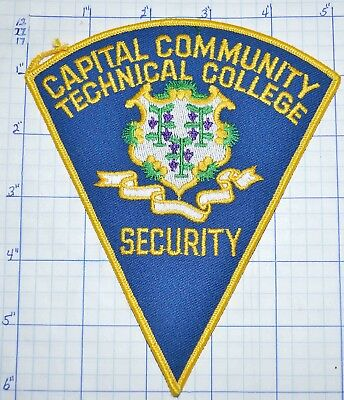 Connecticut, Capital Community Technical College Security Hartford Police Patch