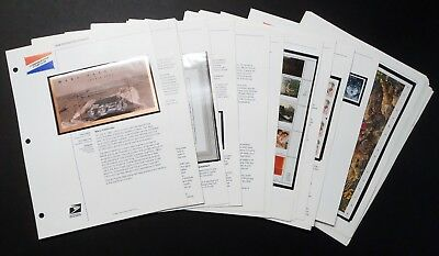 FACE$102 Lot of 301 US MINT NH 1997-1999 Stamp Singles Booklet / Panes & Blocks