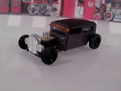 Hot Vintage Ford Model A Rat Rod Drag Coupe Limited 1/64 Scale