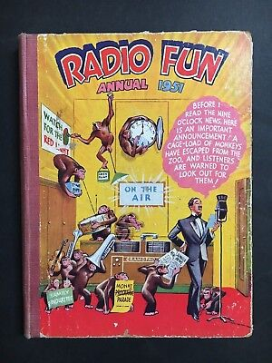 Radio Fun Annual From 1951, 190 Pages