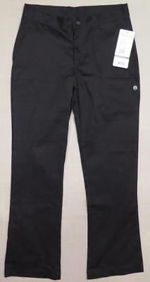 NEW w/ Tags ~ CHEF WORKS ~ Women's Black Pants style PW007 size 6 FREE SHIP USA
