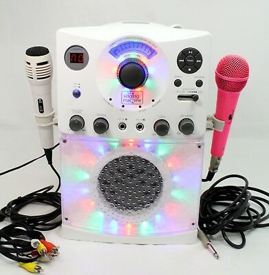 The Singing Machine Cd-G Disco Light Karaoke Machine Model Sml385W