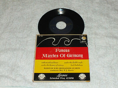 The Band of H.M. Grenadier Guards = Famous marches of germany  1955