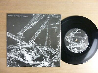"""Current 93 / Nurse With Wound – No Hiding From The Blackbird / The Burial, 7"""""""