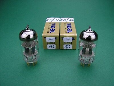 12AX7 / ECC803S TUNG-SOL balance select & matched pair - Röhre Tube Valve new