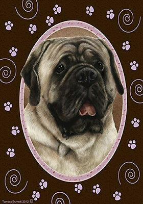 Large Indoor/Outdoor Paws Flag - Silver Mastiff 17277