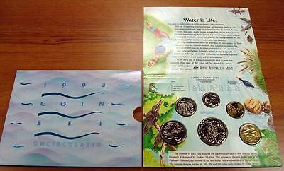 1993 Uncirculated Australia Mint Set ~ Landcare Water Conservation