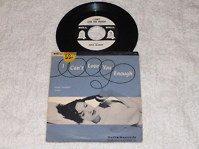 Edna McGriff = I can`t love you enough  USA 1956 Exc.+