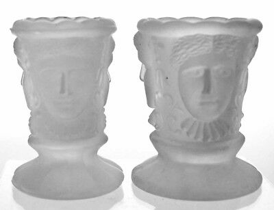 REPRODUCTIONS - Three Faces - Toothpick Holders (2)