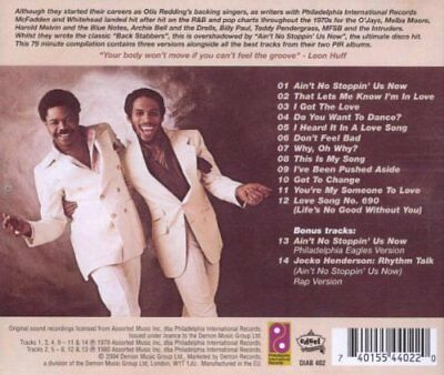 Ain't No Stoppin' Us Now: Best of the PIR Years * by McFadden & Whitehead CD