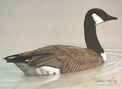 CANADA GOOSE Harold Rigsby Limited Edition Fine Art Print Artist's Proof #1/25