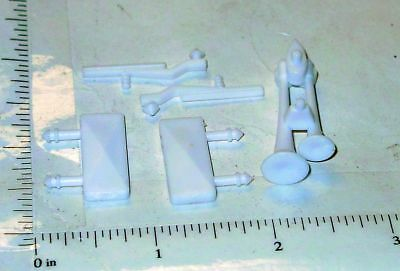 Structo Plastic Mirror/Airhorn/Wipers Truck Accessory Set Toy Parts