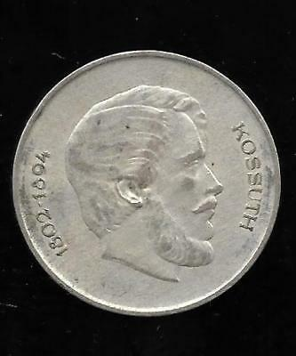 1947 BP. Hungarian Silver 5 Forint – Lajos Kossuth & Arms of the Republic