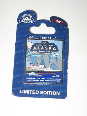 Disney Cruise Line Pin Alaska Summer 2013 Limited Edition NWT Traders Trading
