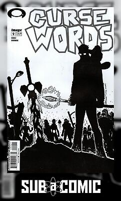 Curse Words #9 Cover D B&W Walking Dead #6 Tribute Variant Comic
