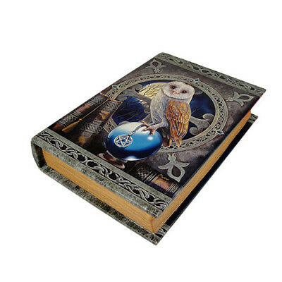 SPELL KEEPER Book Box Lisa Parker owl pentagram witch wicca wiccan witchcraft