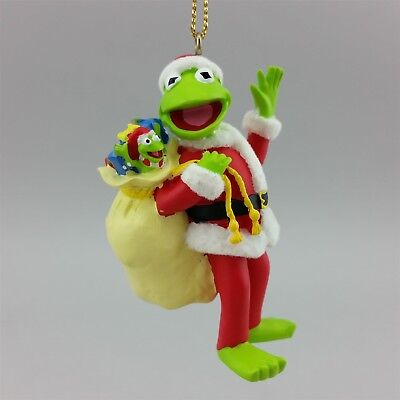 Muppets Kermit Robin Christmas Ornament Flocked Frog from Disney