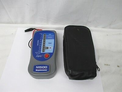 Supco M500 Megaohmmeter Insulation Tester Electrical Testing Diagnostic Tool