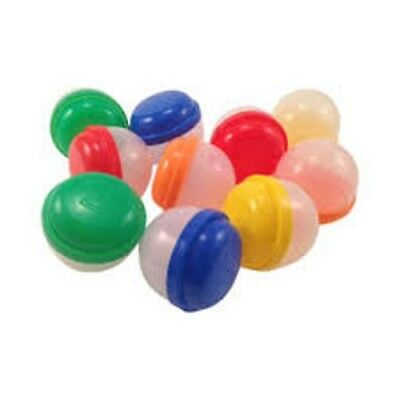 100 Empty Two Inch Acorn Vending Capsules Party Favors Great Price, Quick Ship!!