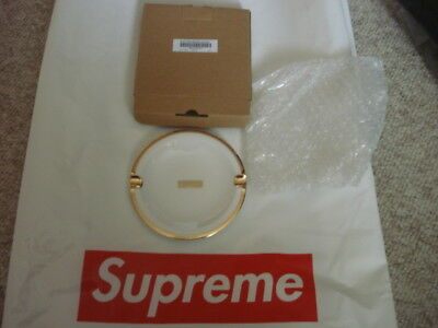 Supreme Gold Trimmed Ceramic Ashtray New With Tags