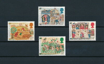 Great Britain 1145-8 MNH, Doomsday Book, 1986