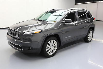2014 Jeep Cherokee Limited Sport Utility 4-Door 2014 JEEP CHEROKEE LIMITED HTD LEATHER NAV REAR CAM 7K #279551 Texas Direct Auto