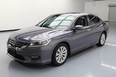 2014 Honda Accord EX-L Sedan 4-Door 2014 HONDA ACCORD EX-L SEDAN SUNROOF NAV REAR CAM 53K #171559 Texas Direct Auto