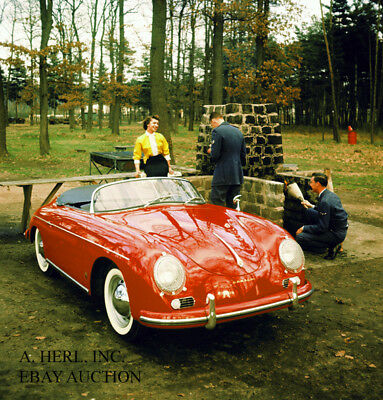 Porsche 356 A Speedster 1956 Type 356A USA import export automobile photo