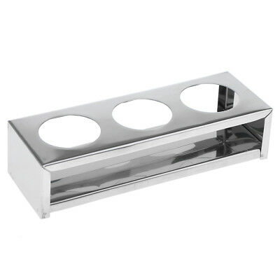 Stainless Steel Dental Instrument Storage Rack Sterilization Holder Tray