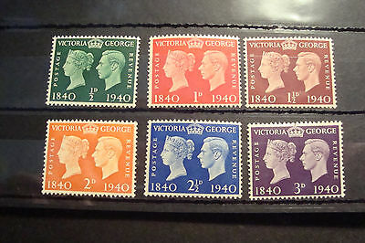 GB 1940 Commemorative Stamps~Centenary~Unmounted Mint~UK seller
