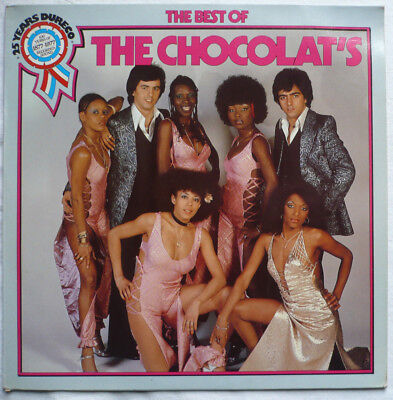 THE CHOCOLAT'S  - The best of the Chocolat's - LP