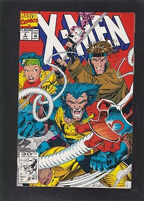 X-Men #4 1st Appearance of Omega Red!