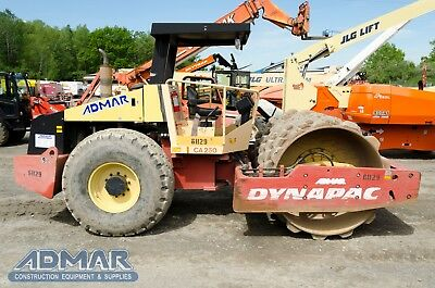 "2005 DYNAPAC CA250PD 84"" Width Padfoot Roller."