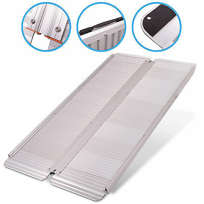 FOLDING PORTABLE 5ft 1.5m TRAVEL SUITCASE CAR ACCESS RAMP FOR WHEELCHAIR SCOOTER