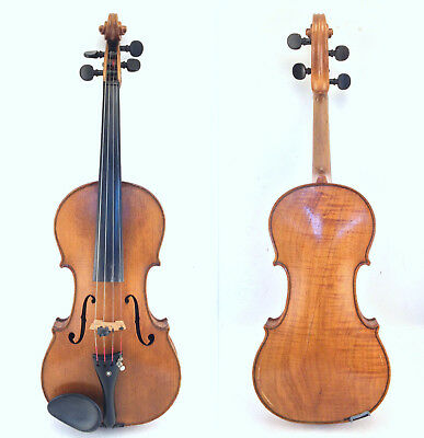 Vintage 1917 John Austin Wesco Full Size 4/4 Violin with Case and Bow