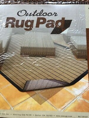 Outdoor Rug Pad Fits 2 X4 Oriental Weavers Exterior Use